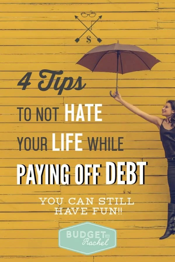 How to pay off debt and still have fun | budgeting doesn't have to be painful, paying off debt can be fun! | simple tips to love your life while becoming debt free | debt payoff journey tips | debt free | debt free hacks to have fun while you are budgeting like a boss | budgeting for beginners | budgeting tips | debt payoff plan #debtpayoff #debtfree #daveramsey #budget #freeprintables