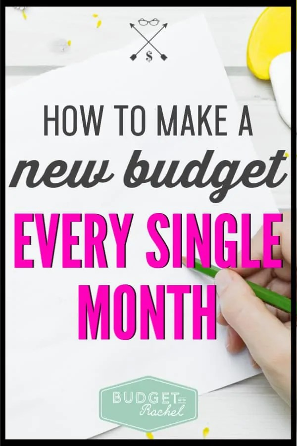 I used to make a budget and then just use the same one every month. Turns out, this is why I was sucking at budgeting! This budgeting tip is life changing!! She makes it so simple to create a new budget every month. This is like budgeting for beginners even if you don't think you are a beginner! You don't want to miss this!