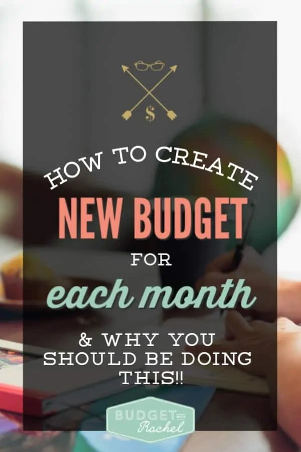 How to create a new budget every month | how to keep a budget every month | monthly budget maintenance | how to adjust your budget every month | what you should be looking at to adjust your budget every month | budgeting tips | budgeting for beginners | monthly budget | how to budget | family budget meeting | budget goals #budget #budgettips #money #personalfinance #financetips