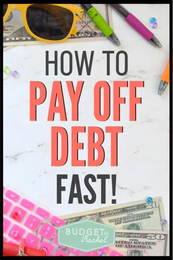Looking to change your financial situation? There are key steps you can take to get out of debt fast and start living your best life! Become debt free using this debt payoff plan. #debtfree #debtpayoff #financialfreedom