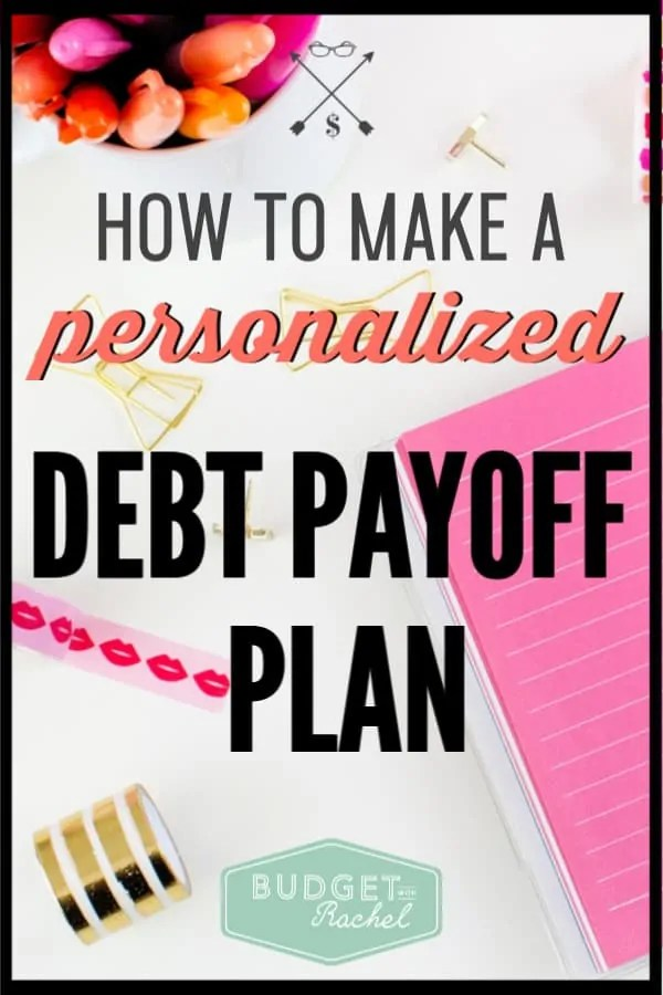 Are you struggling with debt? Stop worrying and start making a debt payoff plan! These steps to becoming debt free will work for you. Put together your debt payoff plan and start moving toward financial freedom. #debtfree #debtpayoff #financialfreedom