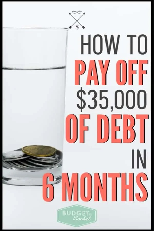 Want to know how to actually attack your debt and get stuff paid off fast? Follow these steps to knock out your debt as fast as possible. This is exactly how I paid off $35,000 of debt in 6 months. #debtpayoff #debtfree #financialfreedom