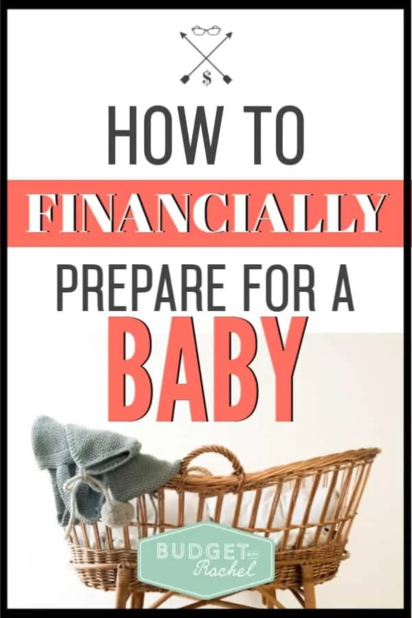 A baby is such a blessing, but can be really stressful on your finances. This is exactly what you need to have ready before your little one arrives. #baby #budget #savemoney