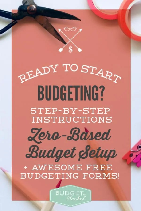 Budgeting for beginners zero-based budget set up | quickly learn to budget using the zero-based budgeting method | dave ramsey | budget tips for beginners | step-by-step instruction to learn to budget | debt payoff | debt free | become debt free by budgeting | money management tips | finance tips for beginners | budget organization #budget #budgettips #daveramsey #financetips #organize
