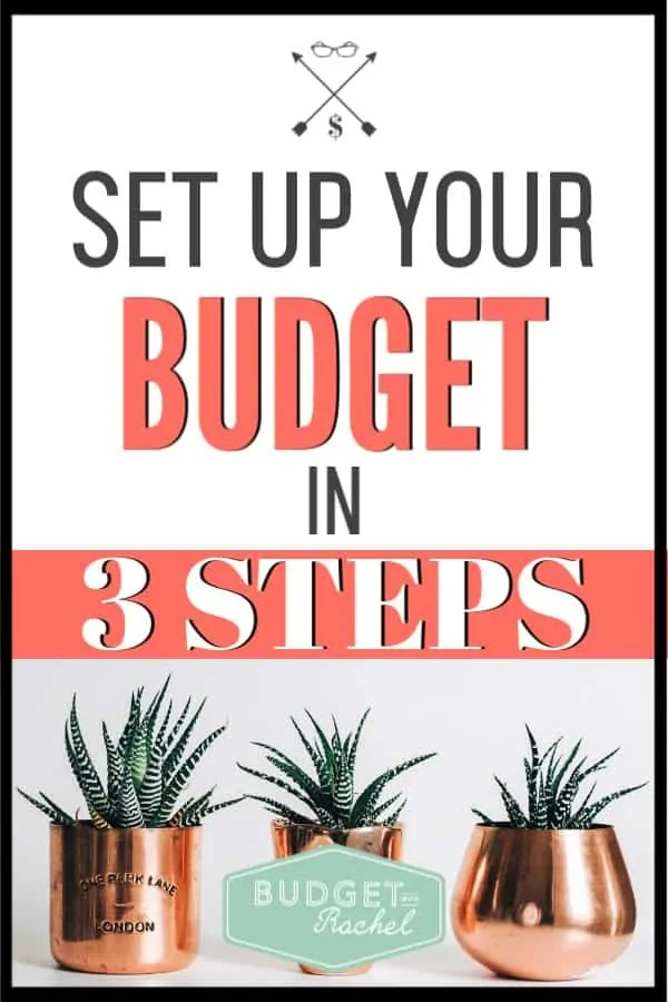 New to budgeting? Feeling overwhelmed? Don't! Use these simple budget tips to set up your budget in 10 minutes or less! Start budgeting today when you follow these steps. #budget #budgettips #freeprintables