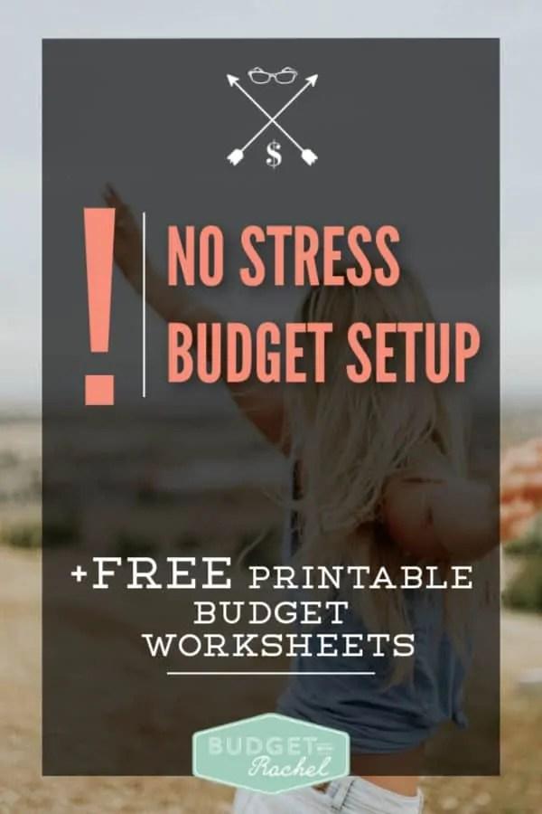 Set up a zero-based budget | stress free budget set up | budget setup simplified | budgeting for beginners | #budget #budgeting #moneysavingtips #debt #debtfree