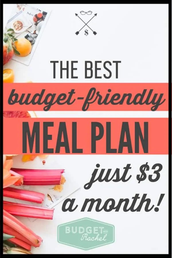 If you struggle with meal planning and don't have the energy for it, use this meal plan where all the work is done for you! It is $3/month to not have to come up with a meal plan or shopping list on your own. I have used this and fed my family of 4 for $300/month. Start using it today and take back your time. #mealplanning #moneysavingtips #savemoney