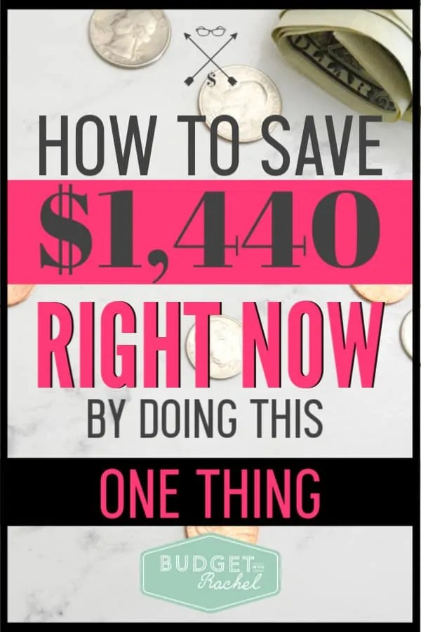 Creative ways to save money can be hard to come up with. A super easy way to save over $1,000 is to change cell phone service providers. Mint Mobile is an amazing cell phone service that can save you tons of money. By changing to this service I was able to save $1,440! This money saving tip is a game-changer for your budget!