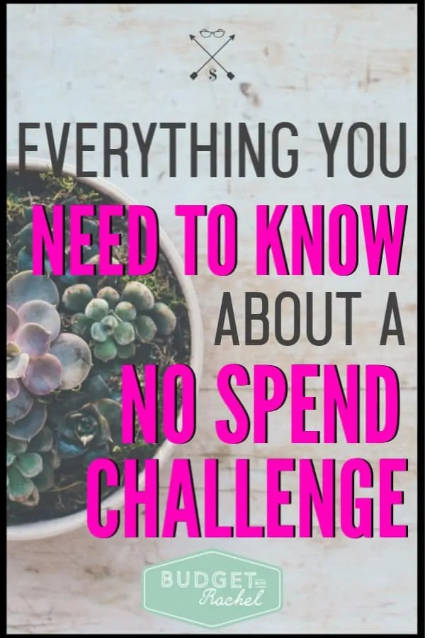 I was stuck trying to get my emergency fund started and then I did a no spend challenge. It was life-changing! All of these no spend challenge tips are so helpful. I was able to fully fund my emergency fund in one month! A no spend challenge helped me save money fast. If you are in debt you need these no spend challenge tips and tricks!