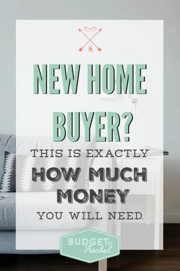 How much money to have saved to buy a home | Extra costs when buying a new home | How much money you should have ready to buy a home | first time home buyer | new home purchase | homeowners #newhome #home #moneysavingtips #budget #budgeting