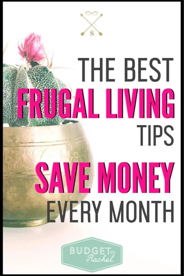 These frugal living tips are amazing! I had no idea how much money I was wasting by not doing some of these things. Tip #2 surprised me, but was so worth doing! I'm saving money every month now and I am actually enjoying frugal living! If you want to save money and have been looking for awesome money saving tips that will actually work, you need to check this out!