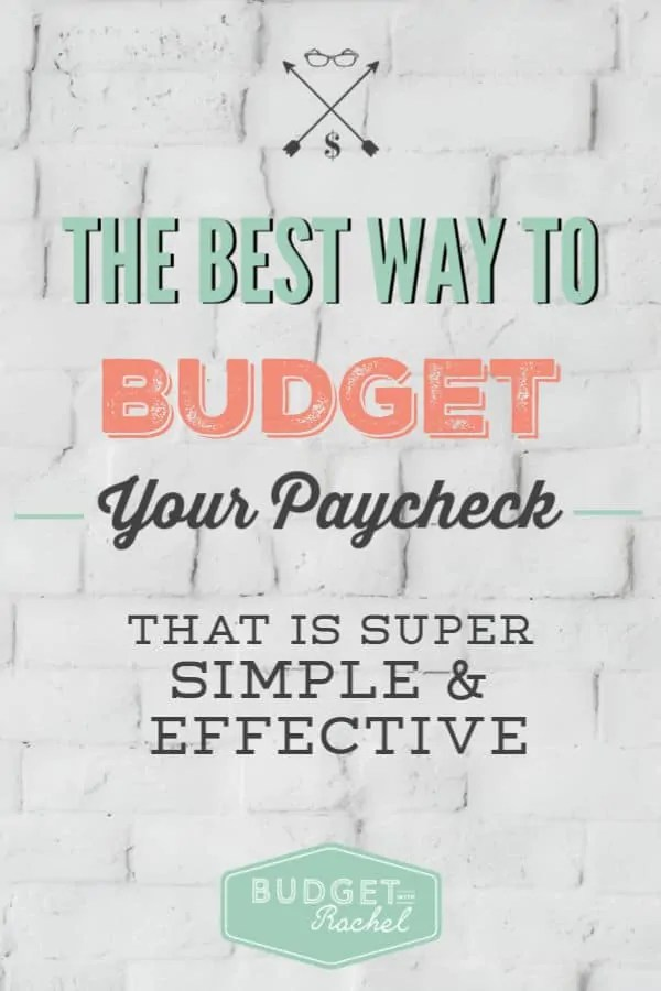 The Best Way to Budget Your Paycheck | What percent of your paycheck should you use in each category? | know how much to spend in each budget category | how to decide what you should be spending your money on | dave ramsey #budget #budgeting #daveramsey #personalfinance