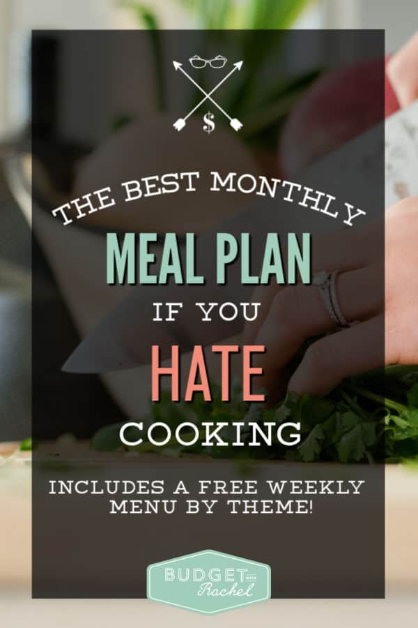 Meal plan for a month | save money meal planning | meal planning on a budget | save money on food | meal planning for beginners #mealplan #moneysavingtips #budget #freeprintable