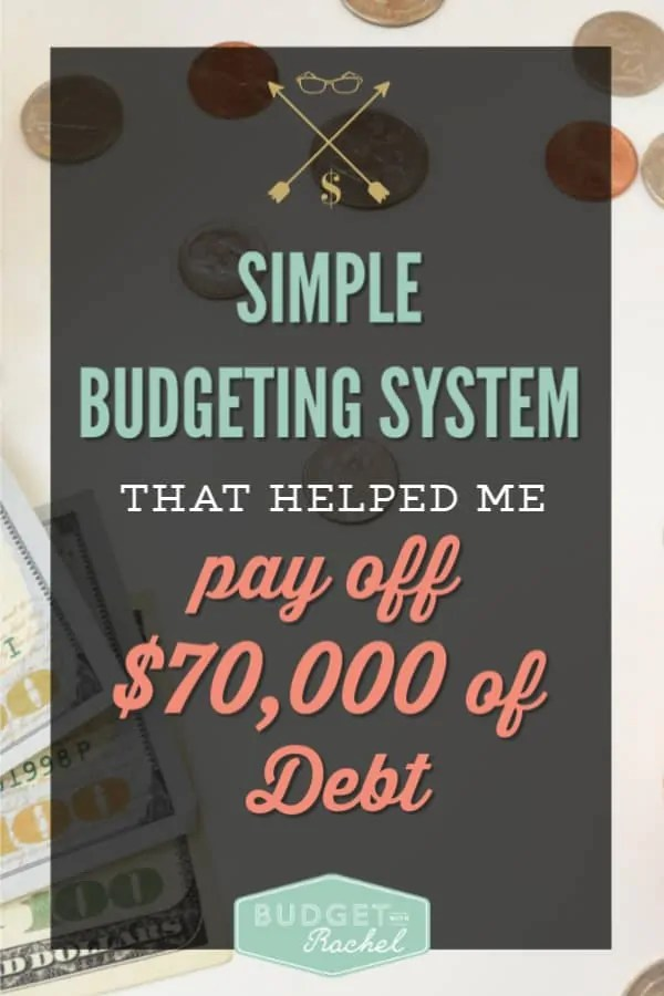 The best budgeting system that is simple and effective | the simple way to budget that will help you pay off debt | become debt free with this budgeting method | budgeting for beginners | budgeting tips | how to begin budgeting to pay off debt | get out of debt with this budgeting system #budget #budgettips #debt free #debtpayoff #freeprintables