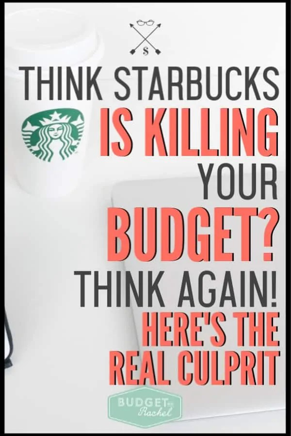 Still blaming Starbucks for your lack of budgeting? Start focusing on the real reason so you can start seeing real results with your budget. This budgeting tip is the key to actually being successful with your money. #budget #budgettips #financetips