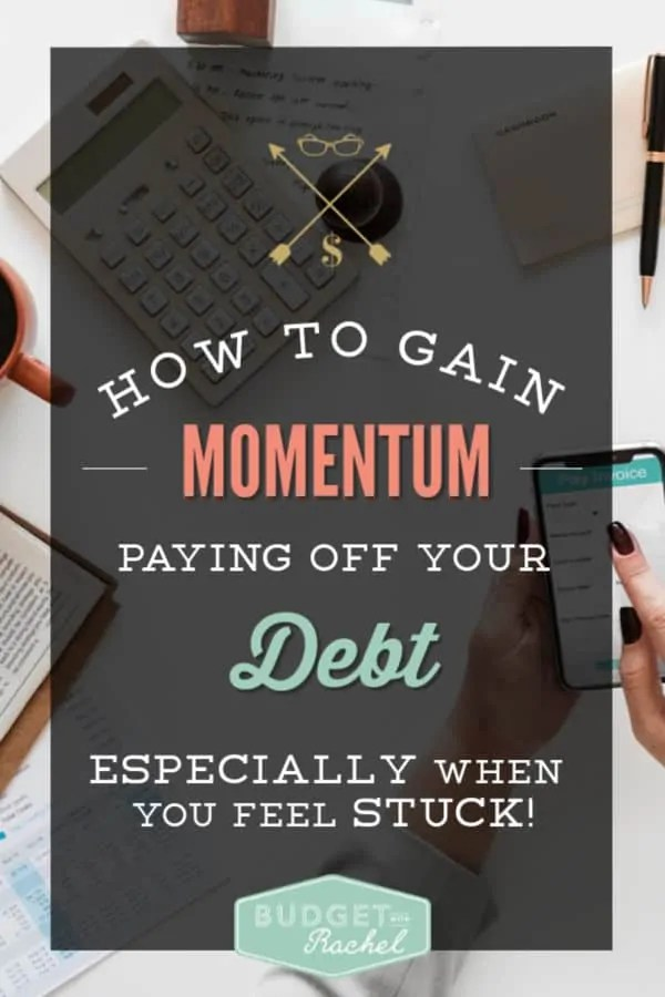 How to gain momentum paying off your debt | build a debt snowball to get out of debt fast | debt snowball | debt payoff | dave ramsey | debt free #debt #debtfree #debtsnowball #daveramsey