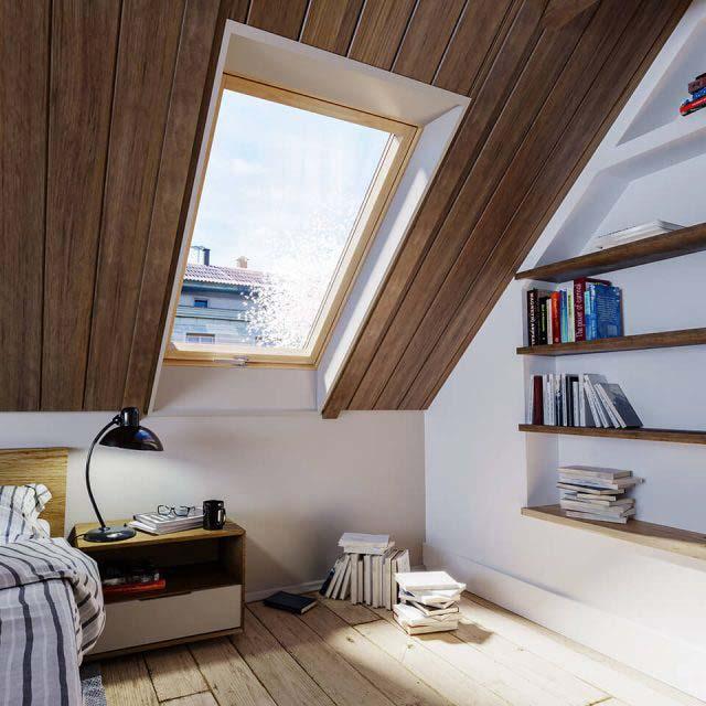 Jakie okno dachowe wybrać do sypialni
