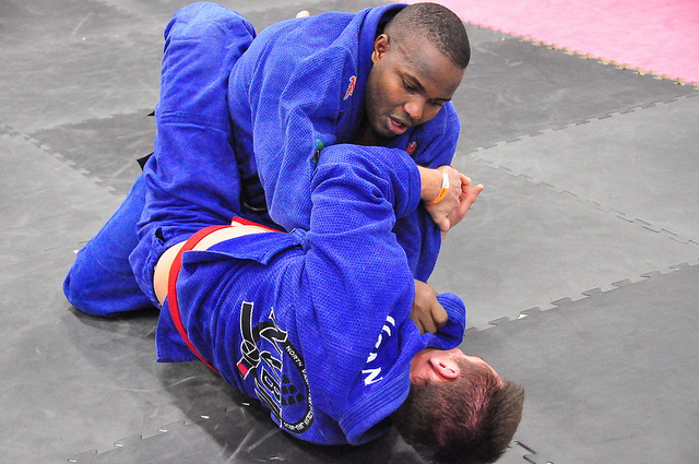 Can martial arts help to dissolve racial tension?