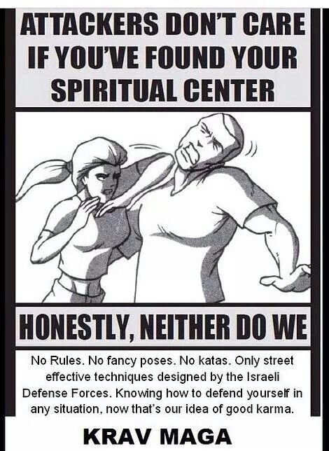 "Are ""spiritually meaningful"" martial arts better than combat arts?"