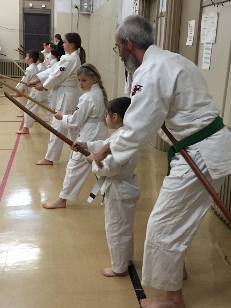Sword class Ju jitsu