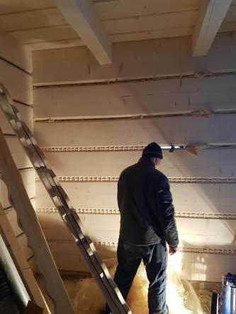 Wykończenie drewnianego domu