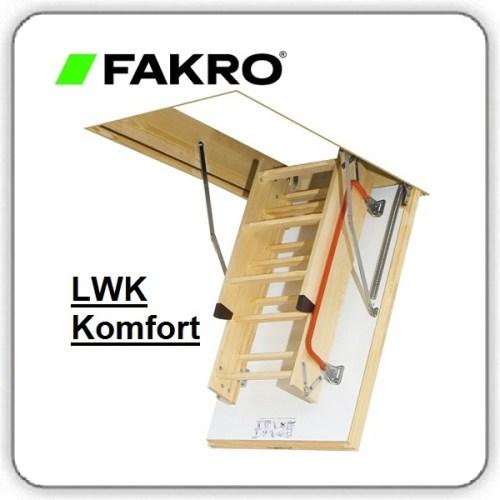 Чердачная лестница Fakro Lwk Komfort - Будсервис