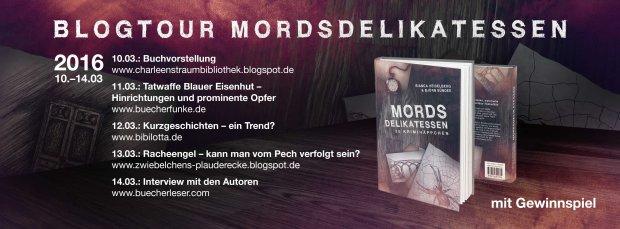 Blogtour Mordsdelikatessen