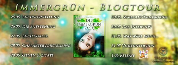Banner Immergrün-Saga Blogotur