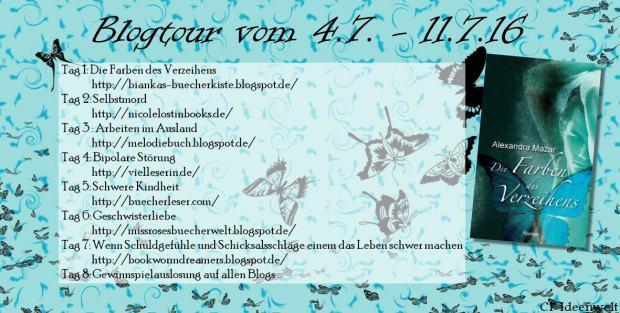 Blogtour Die Farben des Verzeihens banner