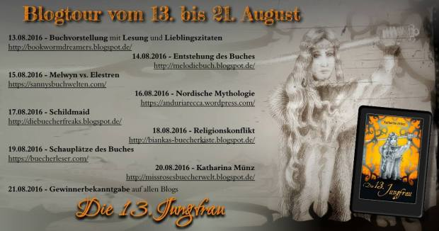 Banner Blogtour 13. Jungfrau