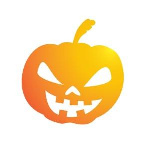 Bügelbild Bad Pumpkin