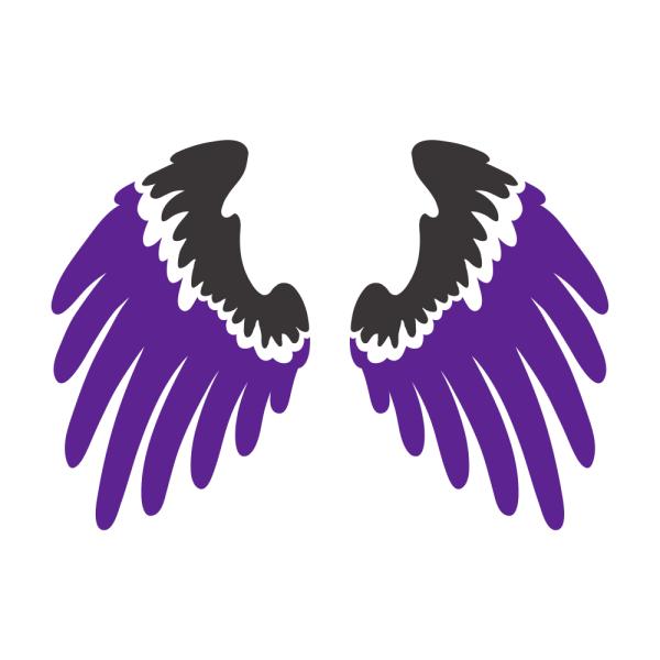 Bügelbild Wings DS 1