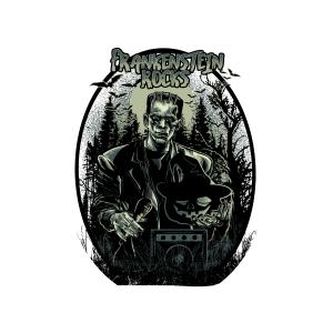 Bügelbild Frankenstein Rocks