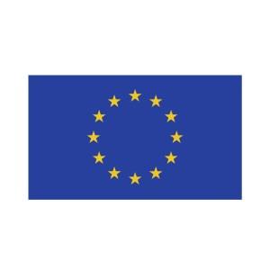 Bügelbild EU Flagge