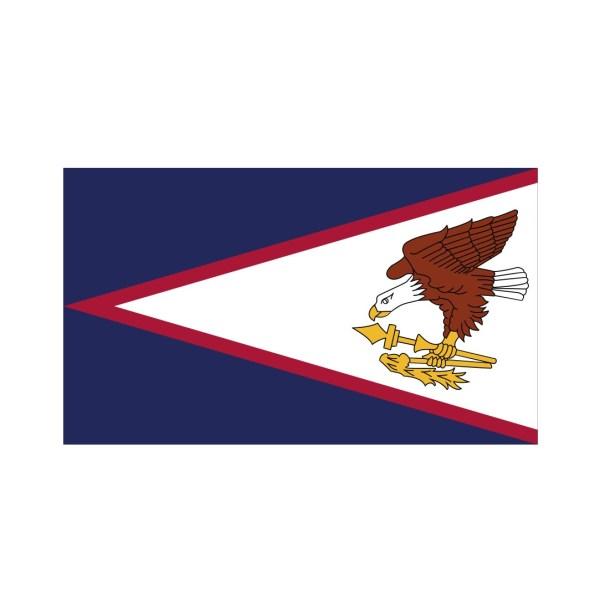 Bügelbild American Samoa Flagge