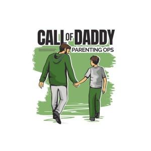 Bügelbild Call of Daddy