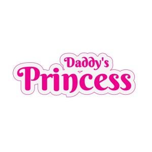 Bügelbild Daddy's Princess