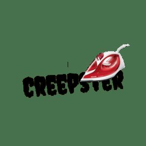 """Wunschtext """"Creepster"""" als Bügelschrift"""