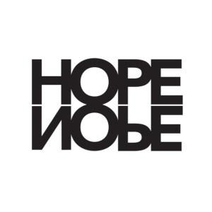 Bügelbild Hope Nope