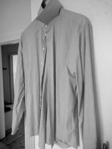 Hoffmanns Wäschestärke - zerknittertes Hemd