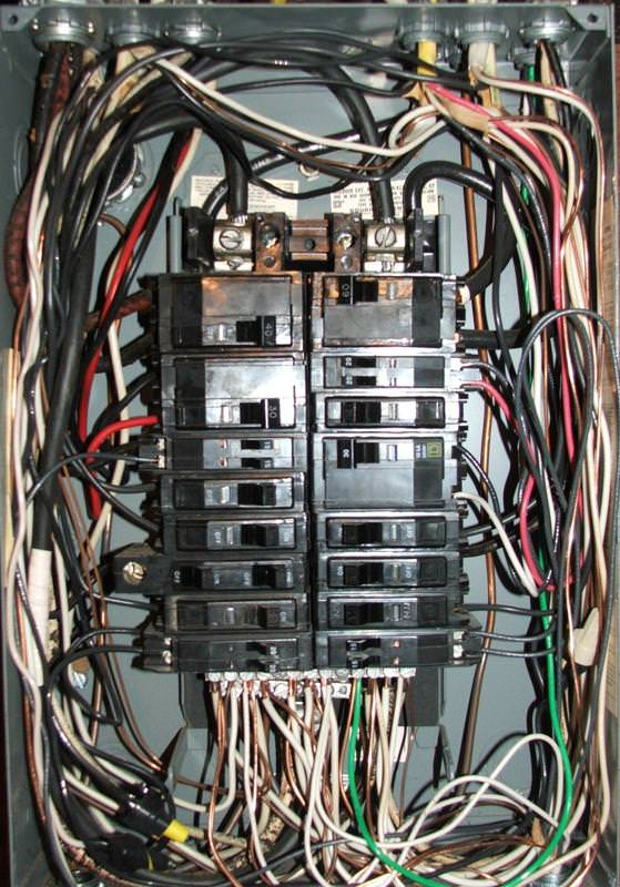main lug sub panel wiring diagram wiring diagrams wiring iony garage doityourself munity forums 70 square d