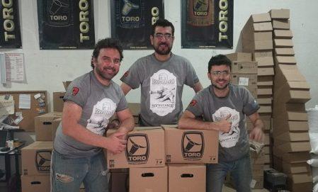 Elias Torales (Cerveza Toro) / Joaquín Díaz (¡Buena Bola!) / Jorge Torales (Cerveza Toro)