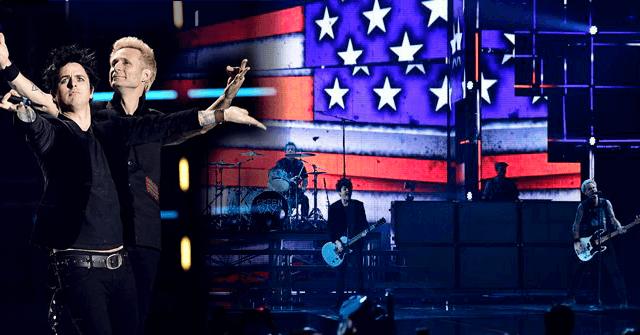 Green Day interpretó American Idiot en los European Music Awards