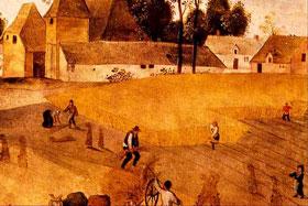 La cosecha de Trigo por Grimmer