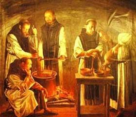 Los Monjes y la fábrica del chocolate