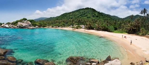 praia tayrona colombia