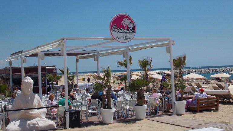 praias barcelona bar chiringuito