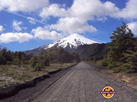 pucon estrada vulcao villarrica