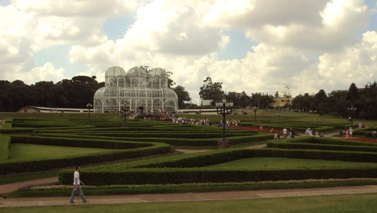 jardim botanico curitiba