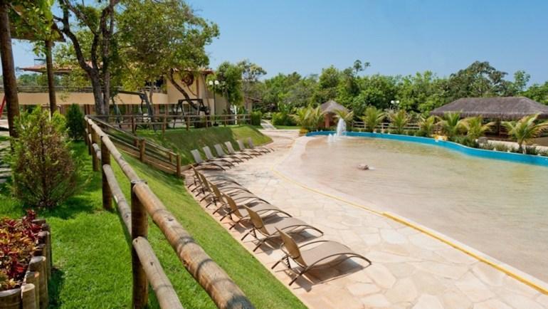 hotel em caldas novas ecologic ville piscina